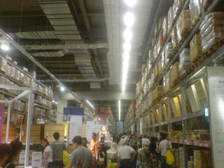 IKEA→フェレットワールドinららぽーと