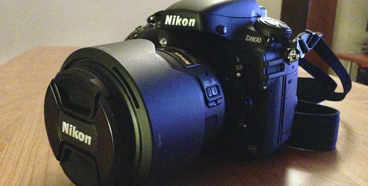Nikon D800保証期間内メンテナンス